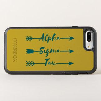 Alpha Sigma Tau Arrow OtterBox Symmetry iPhone 8 Plus/7 Plus Case