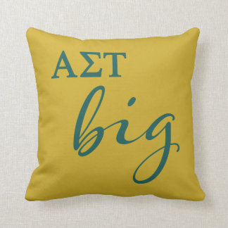 Alpha Sigma Tau Big Script Cushion