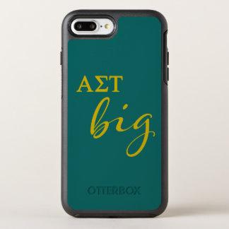 Alpha Sigma Tau Big Script OtterBox Symmetry iPhone 8 Plus/7 Plus Case