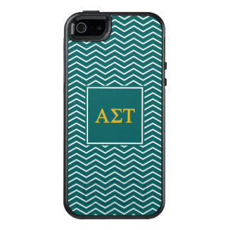 Alpha Sigma Tau | Chevron Pattern OtterBox iPhone 5/5s/SE Case