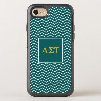 Alpha Sigma Tau | Chevron Pattern OtterBox Symmetry iPhone 8/7 Case
