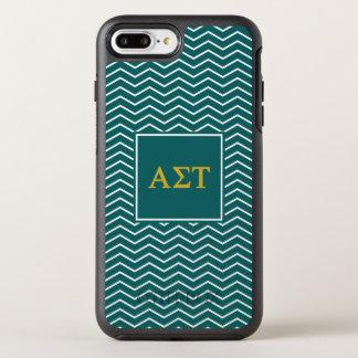 Alpha Sigma Tau | Chevron Pattern OtterBox Symmetry iPhone 8 Plus/7 Plus Case