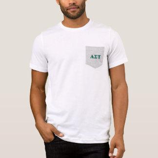 Alpha Sigma Tau Green Letters T-Shirt