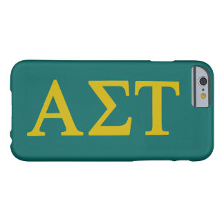 Alpha Sigma Tau Lil Big Logo Barely There iPhone 6 Case