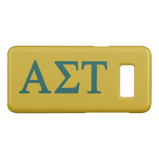 Alpha Sigma Tau Lil Big Logo Case-Mate Samsung Galaxy S8 Case