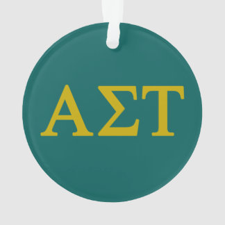 Alpha Sigma Tau Lil Big Logo Ornament