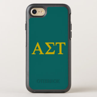 Alpha Sigma Tau Lil Big Logo OtterBox Symmetry iPhone 8/7 Case