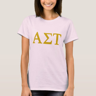 Alpha Sigma Tau Lil Big Logo T-Shirt