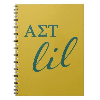 Alpha Sigma Tau Lil Script Notebook