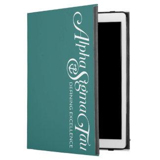 """Alpha Sigma Tau Logo iPad Pro 12.9"""" Case"""