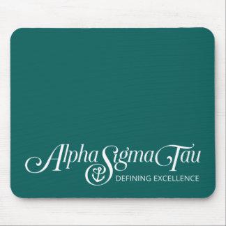 Alpha Sigma Tau Logo Mouse Pad