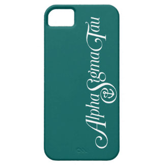 Alpha Sigma Tau Logo No Tagline 2 Case For The iPhone 5