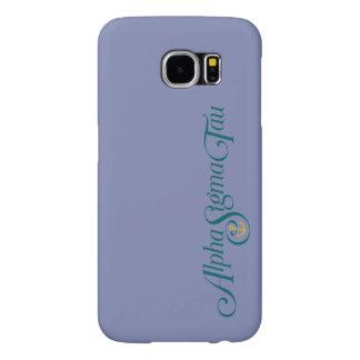 Alpha Sigma Tau Logo No Tagline Samsung Galaxy S6 Cases