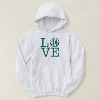 Alpha Sigma Tau Love Hoodie