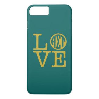 Alpha Sigma Tau Love iPhone 8 Plus/7 Plus Case