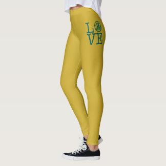 Alpha Sigma Tau Love Leggings