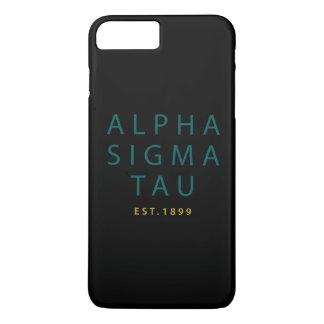 Alpha Sigma Tau Modern Type iPhone 8 Plus/7 Plus Case