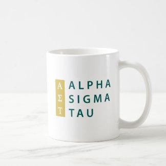 Alpha Sigma Tau Stacked Coffee Mug