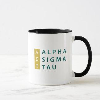 Alpha Sigma Tau Stacked Mug
