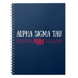Alpha Sigma Tau USA Notebook