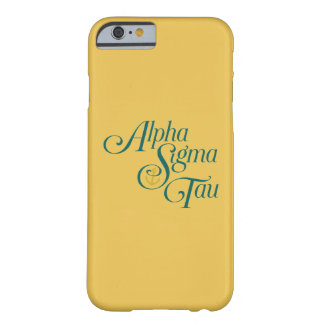 Alpha Sigma Tau Vertical Mark 2 Barely There iPhone 6 Case