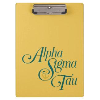 Alpha Sigma Tau Vertical Mark 2 Clipboard