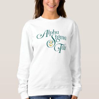 Alpha Sigma Tau Vertical Mark 2 Sweatshirt