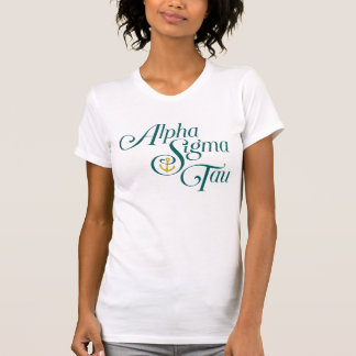 Alpha Sigma Tau Vertical Mark 2 T-Shirt