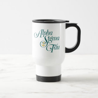 Alpha Sigma Tau Vertical Mark 2 Travel Mug