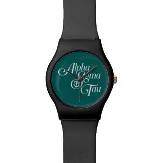 Alpha Sigma Tau Vertical Mark Watch