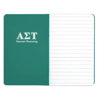 Alpha Sigma Tau White and Green Letters Journal