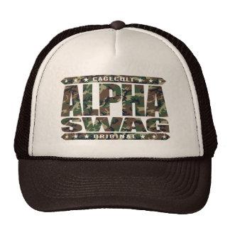 ALPHA SWAG - Positivity Destroys Haters, Camo Cap