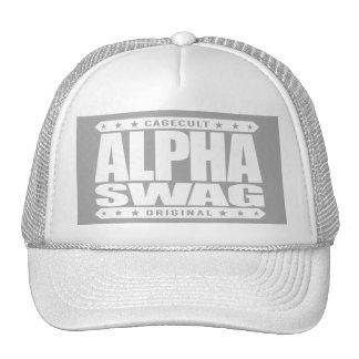 ALPHA SWAG - Positivity Destroys Haters, White Cap