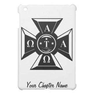Alpha Tau Omega Badge Black & White Case For The iPad Mini