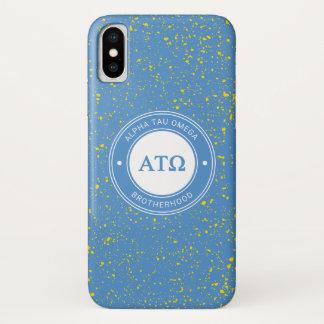 Alpha Tau Omega | Badge iPhone X Case