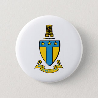 Alpha Tau Omega Color Crest 6 Cm Round Badge