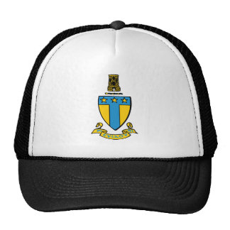 Alpha Tau Omega Color Crest Cap