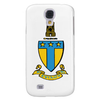 Alpha Tau Omega Color Crest Galaxy S4 Case