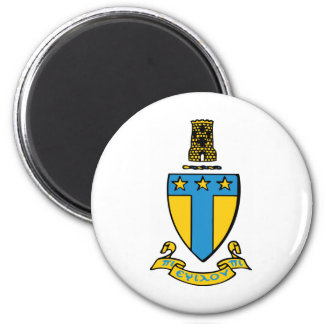 Alpha Tau Omega Color Crest Magnet