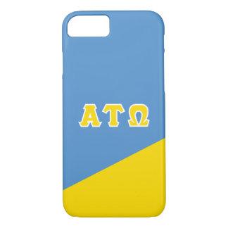 Alpha Tau Omega | Greek Letters iPhone 8/7 Case