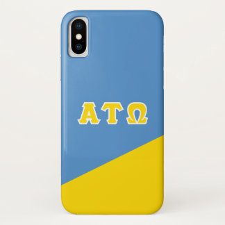 Alpha Tau Omega | Greek Letters iPhone X Case