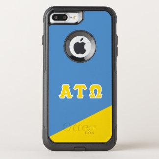 Alpha Tau Omega | Greek Letters OtterBox Commuter iPhone 8 Plus/7 Plus Case