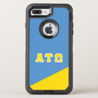 Alpha Tau Omega | Greek Letters OtterBox Defender iPhone 8 Plus/7 Plus Case
