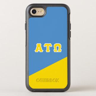 Alpha Tau Omega | Greek Letters OtterBox Symmetry iPhone 8/7 Case