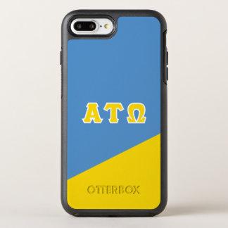 Alpha Tau Omega | Greek Letters OtterBox Symmetry iPhone 8 Plus/7 Plus Case