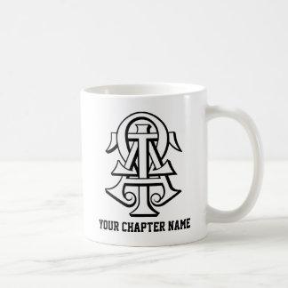 Alpha Tau Omega Interlocked Letters Coffee Mug