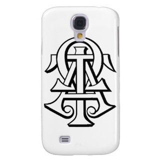Alpha Tau Omega Interlocked Letters Galaxy S4 Case