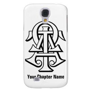 Alpha Tau Omega Interlocked Letters Galaxy S4 Case