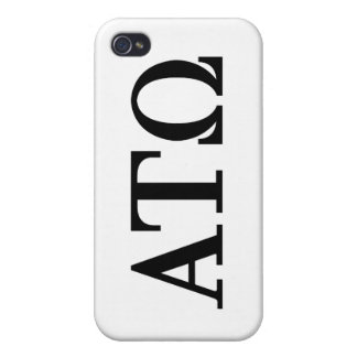 Alpha Tau Omega Letters Cover For iPhone 4
