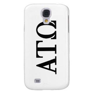 Alpha Tau Omega Letters Galaxy S4 Case